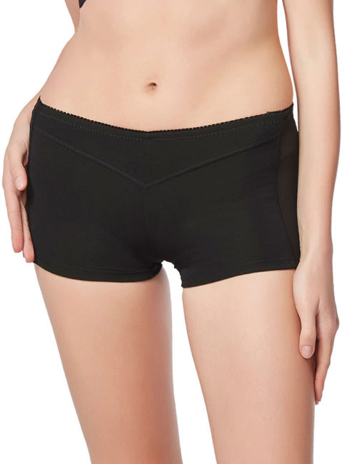 Everbellus Womens Butt Lifter Enhancer Tummy Control Boy Shorts Shaper Panty B1