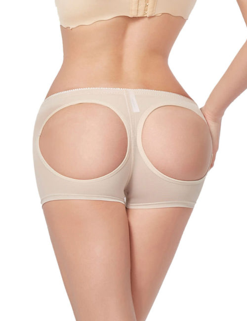 Everbellus Womens Butt Lifter Enhancer Tummy Control Boy Shorts Shaper Panty W2