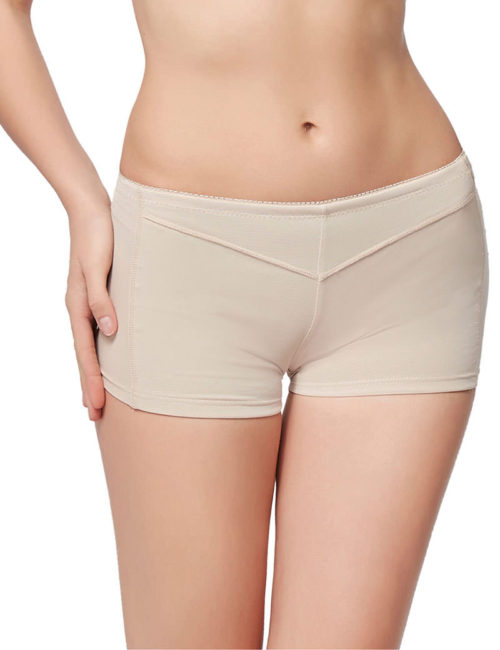Everbellus Womens Butt Lifter Enhancer Tummy Control Boy Shorts Shaper Panty W4