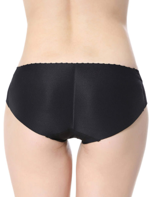 Everbellus Womens Padded Seamless Butt Hip Enhancer Panties Boy Shorts B2