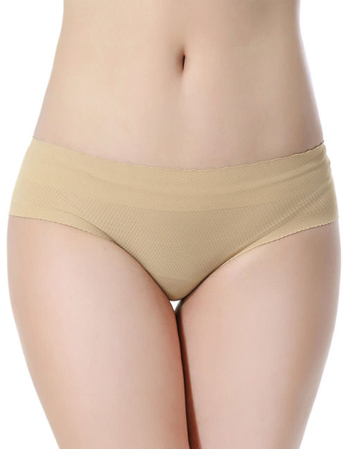 Everbellus Womens Padded Seamless Butt Hip Enhancer Panties Boy Shorts W3