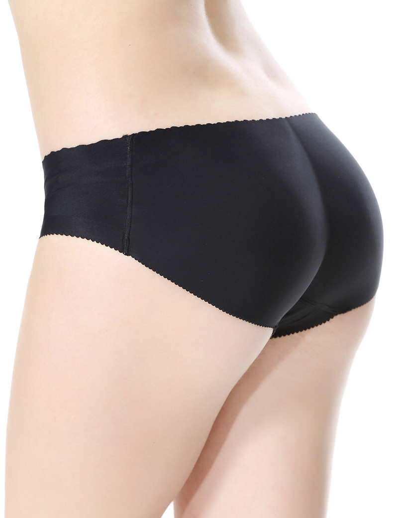 Everbellus Women Hip Butt Panties Briefs Butt Padded Seamless Underwear B1