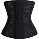 Everbellus Breathable Latex Corset Training Waist Cincher for Women B3