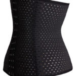Everbellus Breathable Latex Corset Training Waist Cincher for Women B4