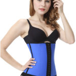 Everbellus Latex Waist Trainer Corset Hourglass Body Shaper for Women B4