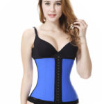 Everbellus Latex Waist Trainer Corset Hourglass Body Shaper for Women B5