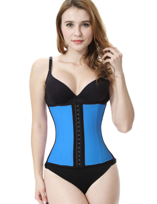 Everbellus Latex Waist Trainer Corset Hourglass Body Shaper for Women BL3