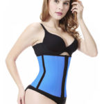 Everbellus Latex Waist Trainer Corset Hourglass Body Shaper for Women Bl2