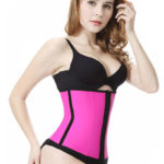 Everbellus Latex Waist Trainer Corset Hourglass Body Shaper for Women P2