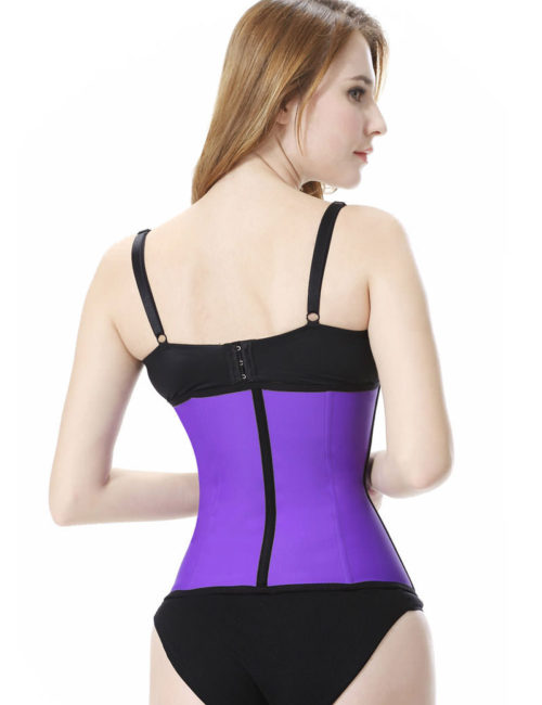 Everbellus Latex Waist Trainer Corset Hourglass Body Shaper for Women PP1