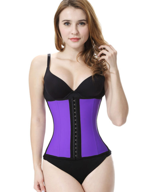 Everbellus Latex Waist Trainer Corset Hourglass Body Shaper for Women PP3