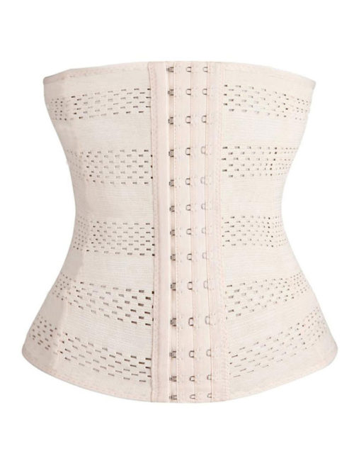 Everbellus Womens Breathable Elastic Corset Waist Trainer Cincher Belt Shapewear W1