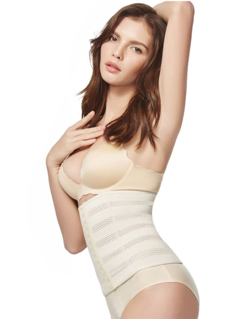 Everbellus Womens Breathable Elastic Corset Waist Trainer Cincher Belt Shapewear W3