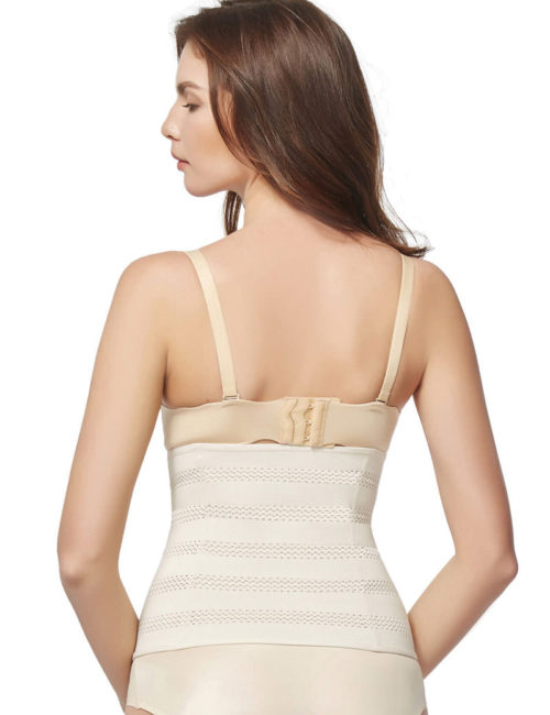 Everbellus Womens Breathable Elastic Corset Waist Trainer Cincher Belt Shapewear W4