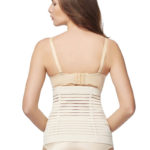 Everbellus Womens Breathable Latex Corset Steel Bone Training Waist Cincher W3