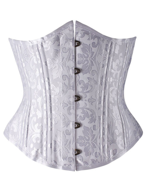 Everbellus Womens 26 Steel Boned Heavy Duty Waist Trainer Corset for Weight Loss 2W3