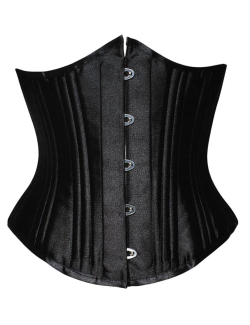 Everbellus Womens 26 Steel Boned Heavy Duty Waist Trainer Corset for Weight Loss B4