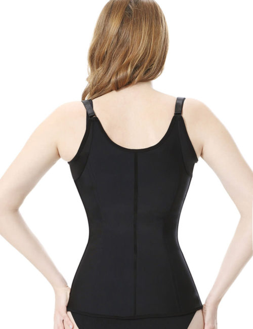 Everbellus Womens Adjustable Shoulder Strap Waist Trainer Vest Underbust Corset B3