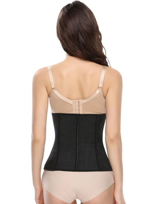 Everbellus Womens Breathable Latex Waist Trainer Cincher Elastic Shapewear BK3
