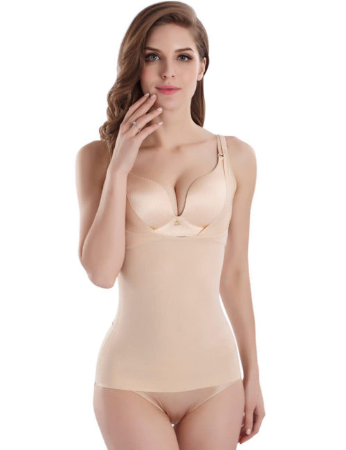 Cool Comfort Shapewear Top Seamless Firm Control Tank for Women W1 1