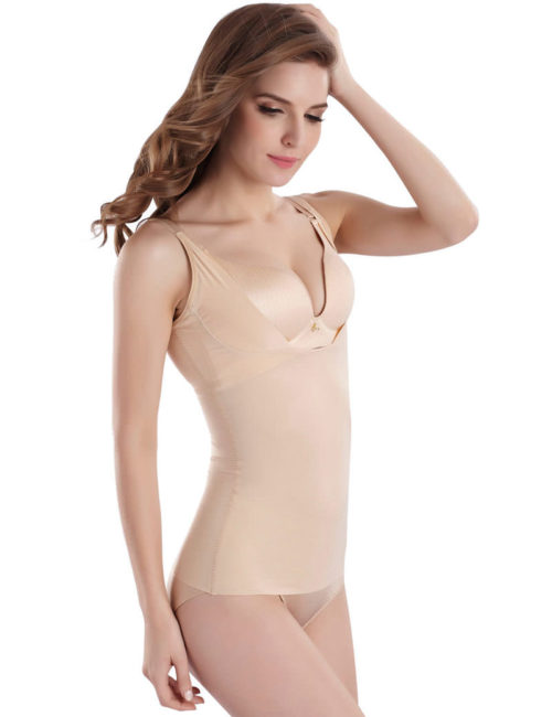 Cool Comfort Shapewear Top Seamless Firm Control Tank for Women W2