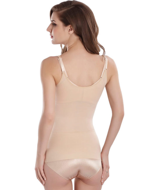 Cool Comfort Shapewear Top Seamless Firm Control Tank for Women W3