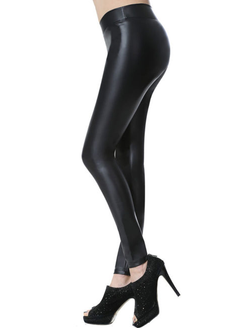 black leather leggings 1