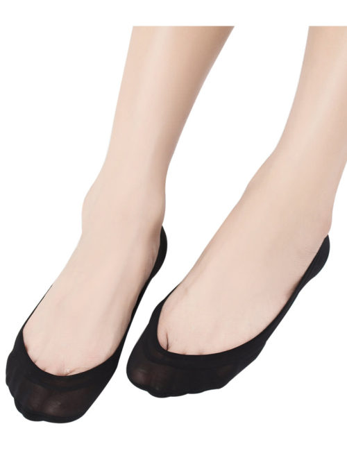 4 Pairs No Show Socks Women for Flat Low Cut Socks B2