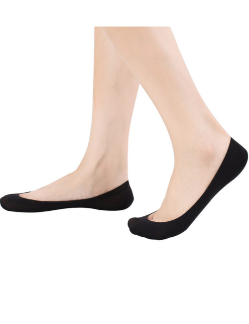 4 Pairs No Show Socks Women for Flat Low Cut Socks B3