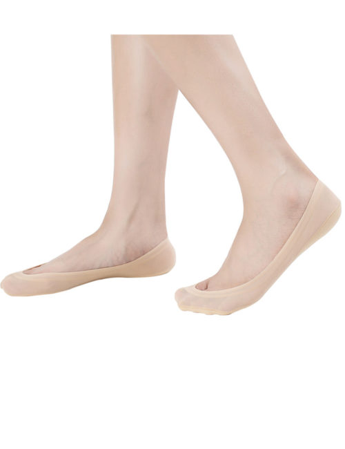 4 Pairs No Show Socks Women for Flat Low Cut Socks W3